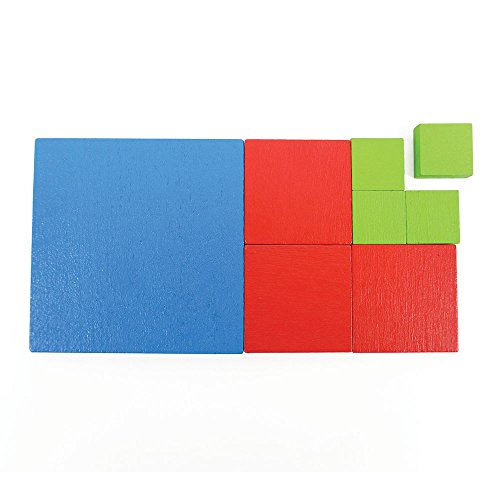 EAI Education Fractional Area Tiles - Set of 142