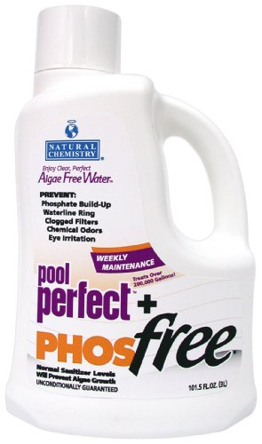 Metal Free Pool Chemical - Natural Chemistry 05131 Pool Perfect+ Phosfree Pool Cleaner 3 Liter