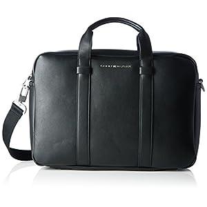 Tommy Hilfiger Men's TH City Bag, Black, 8x28x40 cm (b x h x t)