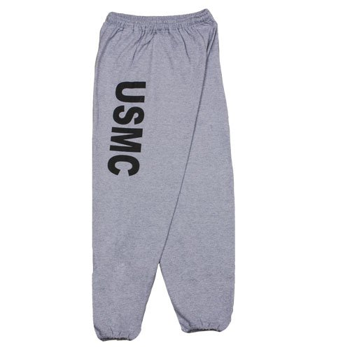 Fox Outdoor Products USMC Sweatpants, Grey, (Fox Sweatpants)