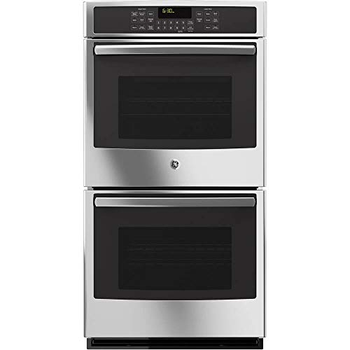 GE JK5500SFSS 27″ Built-In Double Convection Wall Oven In Stainless Steel (Certified Refurbished)