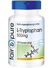 L-Tryptophan 500 mg - vegan - 120 kapslar