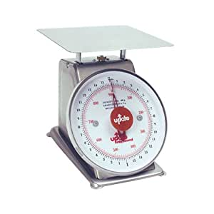 Update International (UPS-820) 20 Lb S/S Analog Portion Control Scale