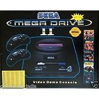 New Sega Mega Drive 2 (16 Bit) TV Video Game For Kids With 368 inbuilt Games - Black
