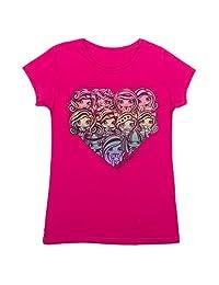 Monster High - Girls Short Sleeve T-Shirt, Smokin Hot Pink