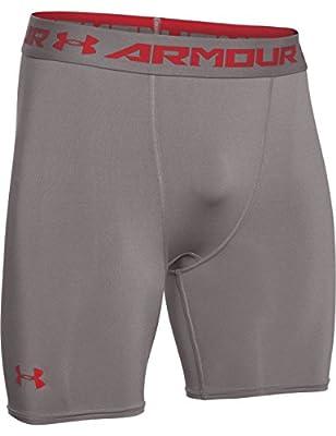 Under Armour Men's HeatGear Armour Compression Mid Shorts
