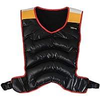 Viva Fitness Weighted Vest, Jacket Adult 10Kg (Black)