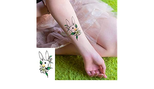ljmljm 5 Piezas Impermeable Tatuaje Pegatina Caballo Tatto Tatuaje ...