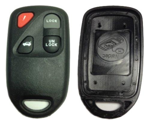 keylessoption sólo el caso Keyless Entry Remote Key Fob Shell