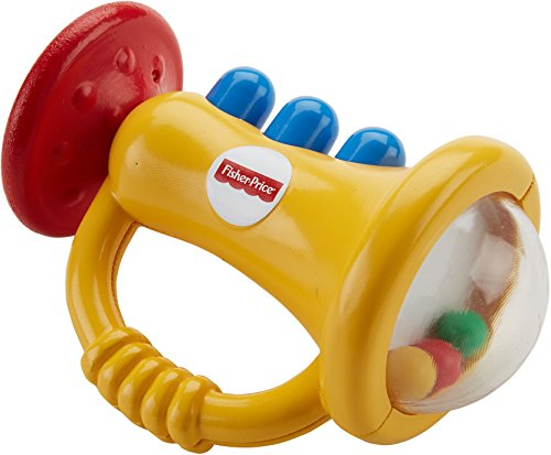 Fisher Price  Teethe N Rattle Trumpet