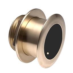 Garmin B175H 1kW Bronze Tilted Thru-hull Transducer with Depth & Temperature (20° tilt, 8-pin) 010-11937-22