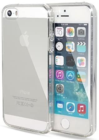 Itronik IPhone 5 5S 5SE TPU Hulle Schutzhulle Crystal Case Durchsichtig Klar Silikon Transparent