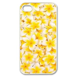 Red Hawaii Flower Unique Fashion Printing Phone Case for Iphone 4,4S,personalized cover case ygtg606728