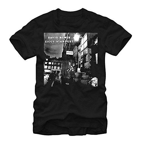 David Bowie Ziggy Stardust Cover Mens XL Graphic T Shirt - Fifth Sun