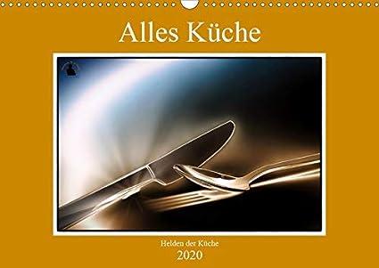 Alles Küche - Helden der Küche Wandkalender 2020 DIN A3 quer ...
