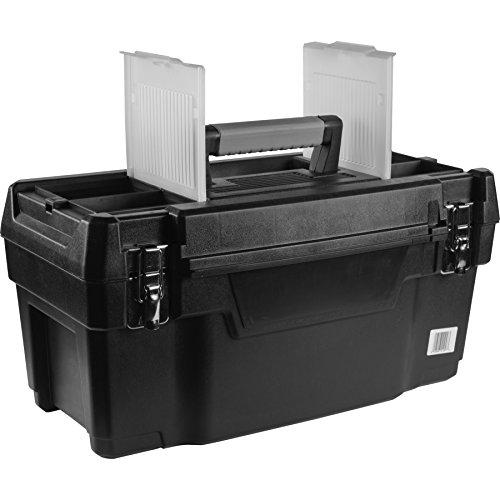 Husky 692202bandeja de caja de herramientas con parte superior extraíble de plástico, 19'