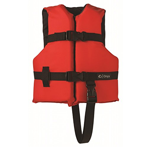 Onyx Youth General All Purpose Vest - Red / Blk