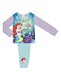 Cartoon Character Products Disney Princess Girls Ariel Pyjamas - 18 Months to 5 Years