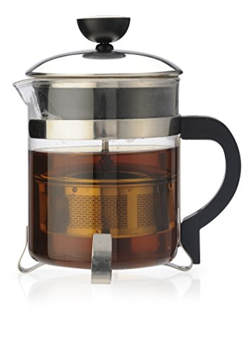 Primula PTP-6405 Classic Tea Maker, 18-Ounce, Clear