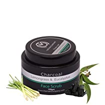 The Man Company Activated Charcoal Face Scrub for Men