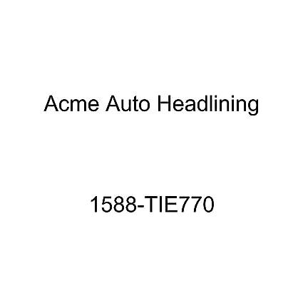 Pontiac Bonneville /& Catalina 2 Door Hardtop 6 Bow Acme Auto Headlining 64-1510-806 Aqua Replacement Headliner