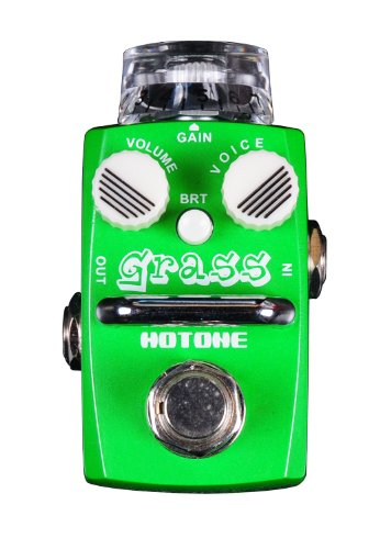 - Hotone Skyline Series GRASS Compact Modern Overdrive Guitar Effects Pedal