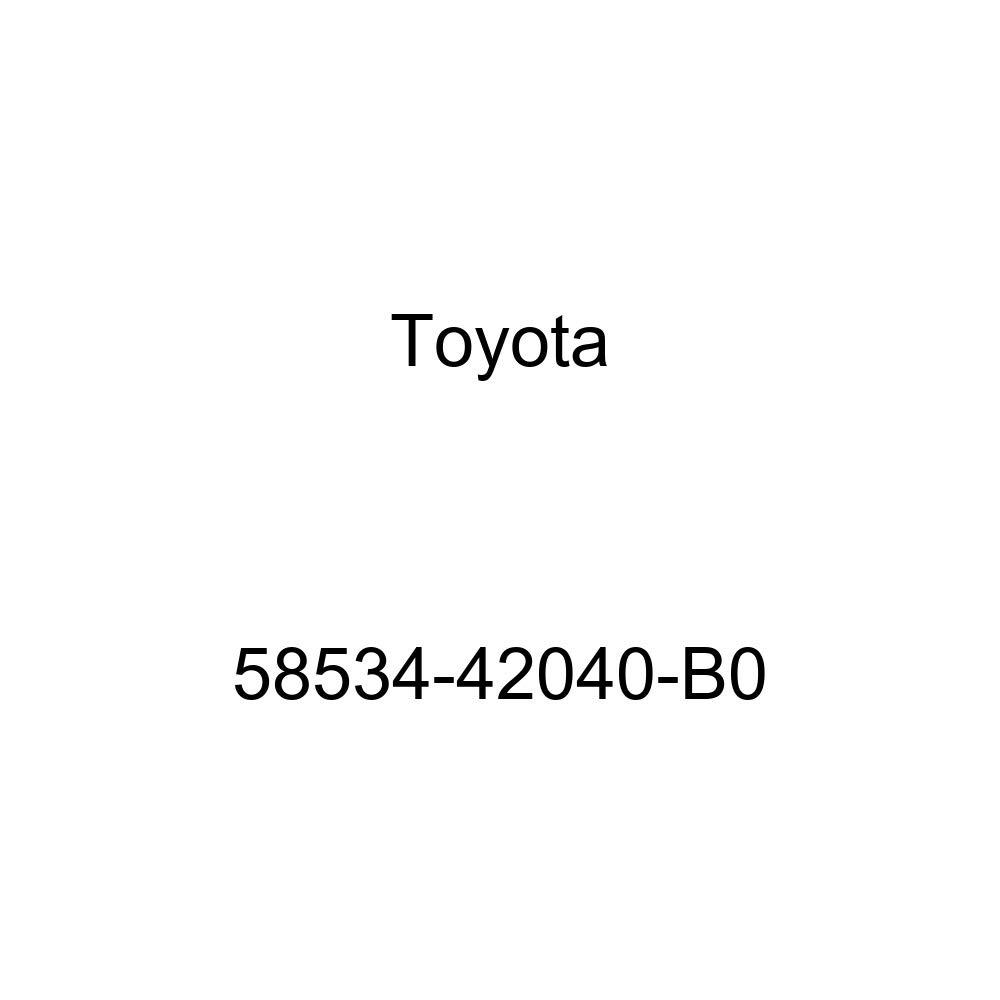 TOYOTA 58534-42040-B0 Floor Carpet Cover