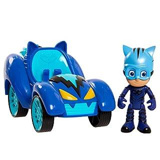 PJ Masks Hero Blast Vehicles-Catboy, Blue, Model Number: 95496