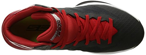 Skechers Prestazioni Go Torch Scarpa da Basket Black/Red