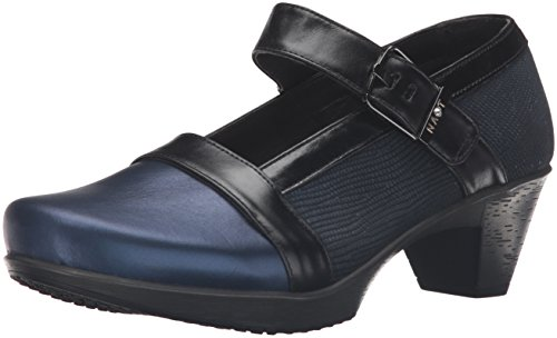 Naot Women's Dashing Wedge Pump Blue KyulBjbGl