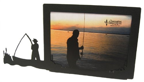 Fisherman 5X7 Horizontal Picture Frame