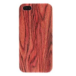 ZCL sold out Novelty Wood Grain Pattern Hard Case for iPhone 5/5S (Assorted Colors) , Black