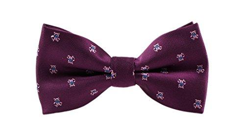 Homme Nœud Violet Acvip Nœud Acvip Papillon Papillon qTX8xg