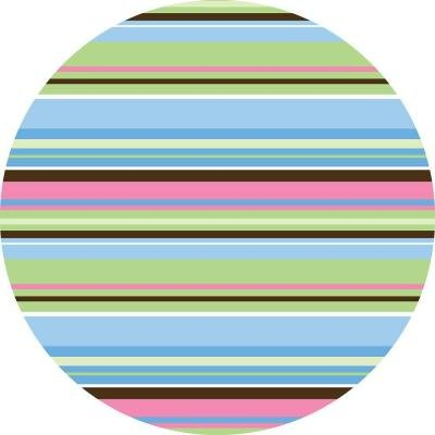 - WallPOPs 13 in. x 13 in. Ribbon Candy Blue Dot Wall Decal