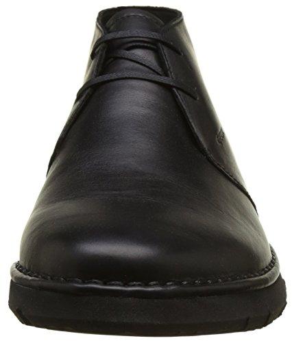 U Homme Geox black Noir Boots Desert E Pluges qdgdCa