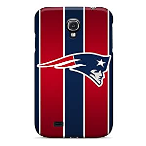 JamieBratt Samsung Galaxy S4 Bumper Hard Phone Cases Customized High Resolution New England Patriots Image [HJY19939KXJS]