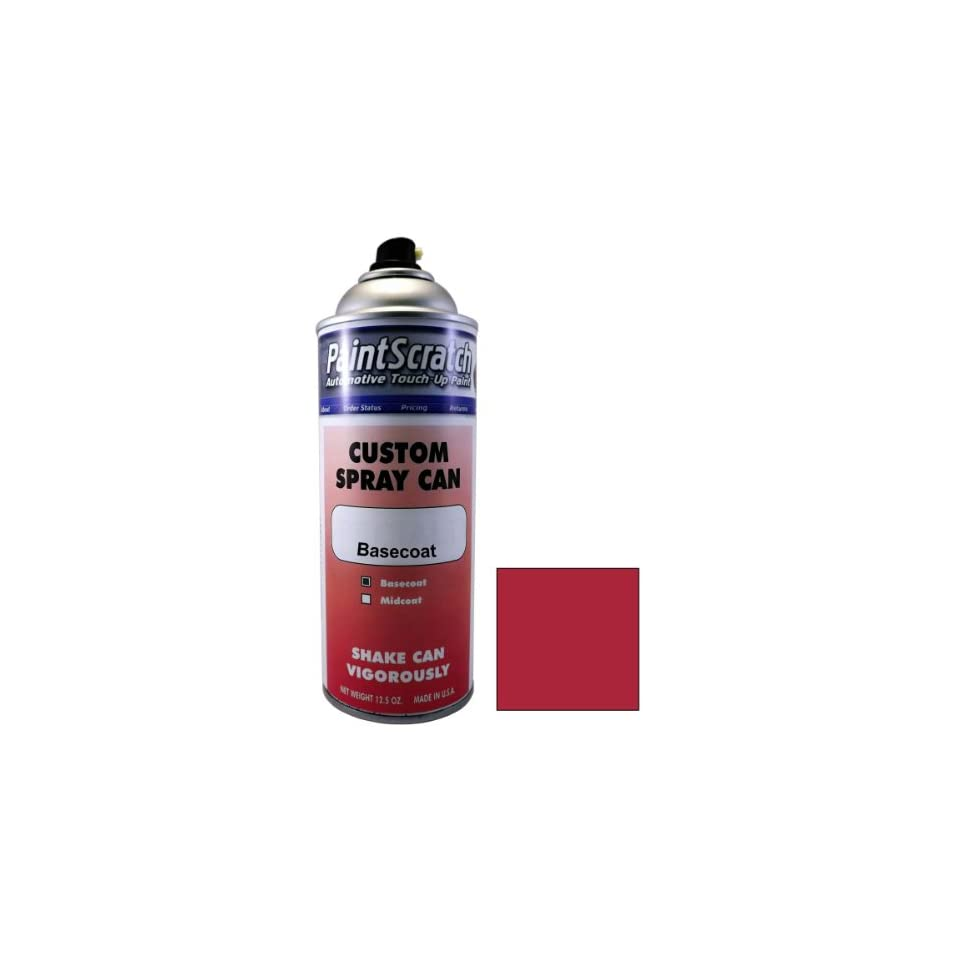 12.5 Oz. Spray Can of Mystic Red Pearl Metallic Touch Up Paint for 2005 Mercedes Benz CLK Class (color code 037/0037) and Clearcoat