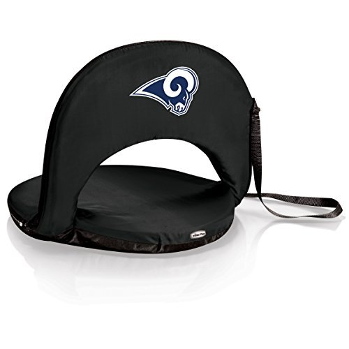 (PICNIC TIME NFL LA Rams Oniva Reclining Seat, Black)