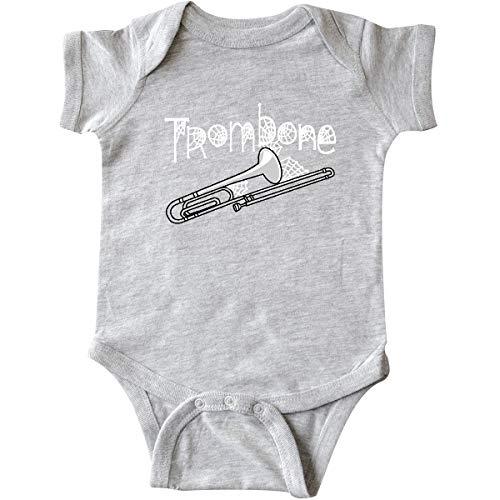 inktastic - Trombone Halloween Infant Creeper 12 Months Heather Grey 2c795 ()