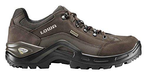 Lowa Renegade II GTX® lo Wide All Terrain Trekking para hombre negro, 3109554285, ESPRESSO/BRAUN, 42.5 EU ESPRESSO/BRAUN