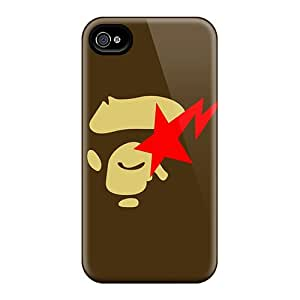 Blowery Premium Protective Hard Case For Iphone 4/4s- Nice Design - Bape