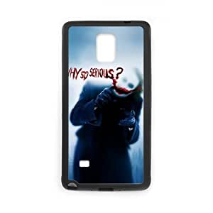 Samsung Galaxy Note 4 Cell Phone Case Black The Joker J3425079