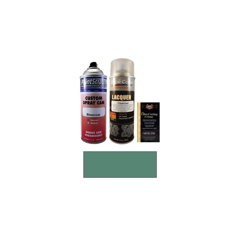 12.5 Oz. Mineral Green Metallic Spray Can Paint Kit for 2001 Mercedes Benz CLK Class (814/6814)