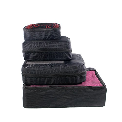 Set of 4 packing cubes