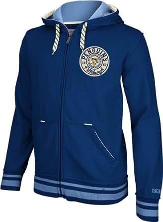 Pittsburgh Penguins CCM Classics Fleece Full Zip Sweatshirt - XX-Large