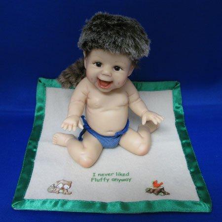 - Ashton Drake Doll I never liked Fluffy anyway - by Artist