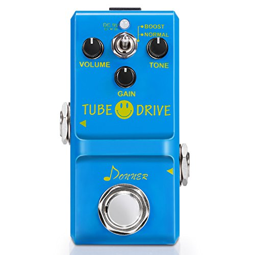 Tube Distortion Guitar Effects Pedal (Donner Tube Drive Overdrive Guitar Effect Pedal Super Mini)