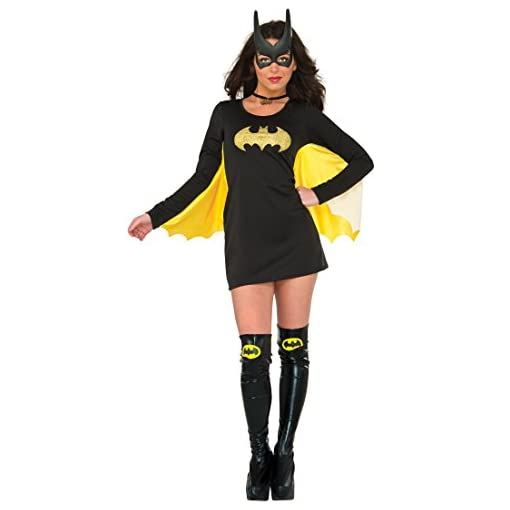Rubie's DC Superheroes Batgirl Adult Long Sleeve Cape Dress