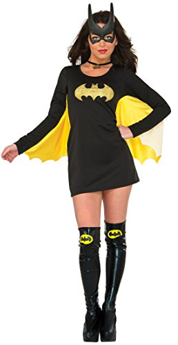 Heroes And Villains Womens Costumes (Rubie's Women's Dress, Batgirl, Small-Medium)
