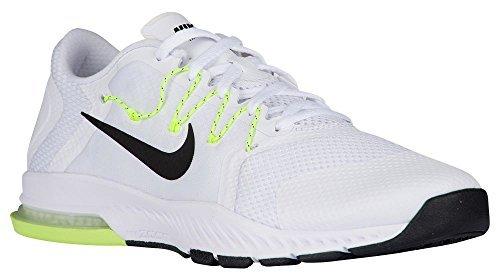 f234c52b12e3 Galleon - Nike Mens Zoom Train Complete Training Shoe White   Black - Pure  Platinum - Volt 882119-100 (8.5)